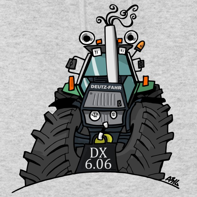 0367 Groene trekker DX606