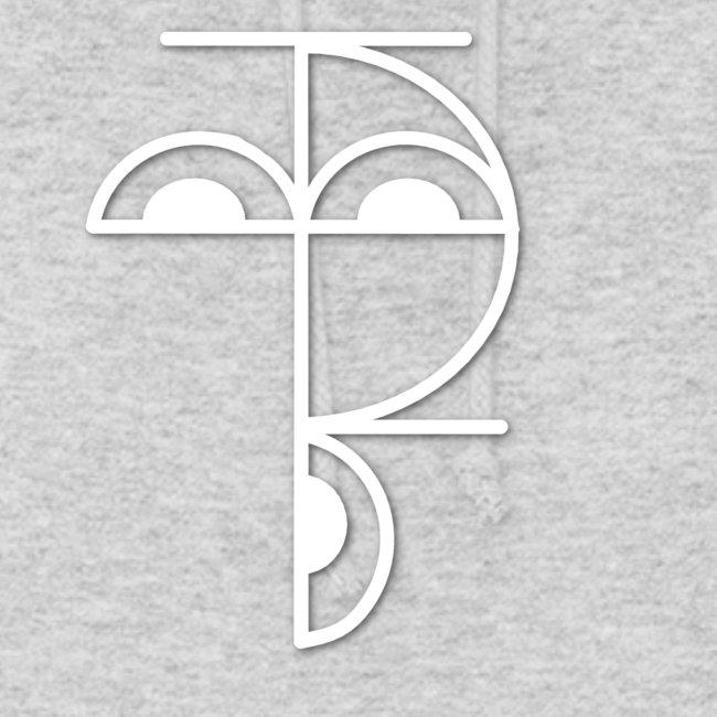 XP Logo retro weiss