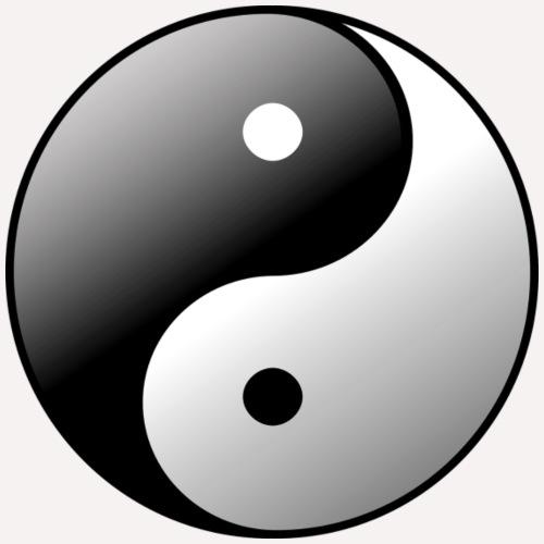 yin yang - Women's Hoodie