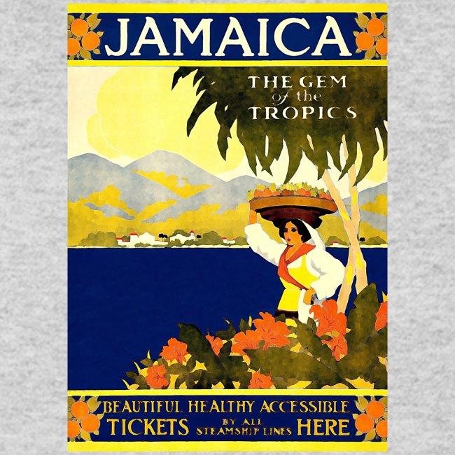Jamaica Vintage Travel Poster