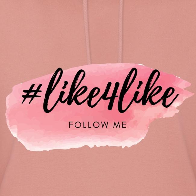 Hashtag like4like Rosa
