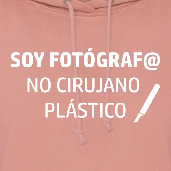 SOY FOTÓGRAFO NO CIRUJANO PLÁSTICO sin logo