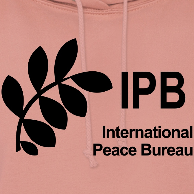 International Peace Bureau IPB Logo black