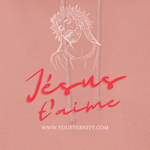 Jésus t'aime - Sweat à capuche Femme