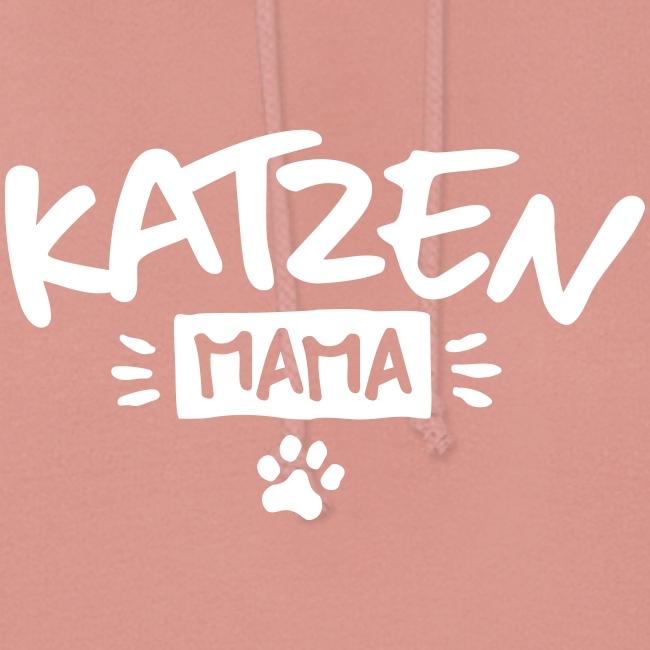 Vorschau: Katzen Mama - Frauen Hoodie