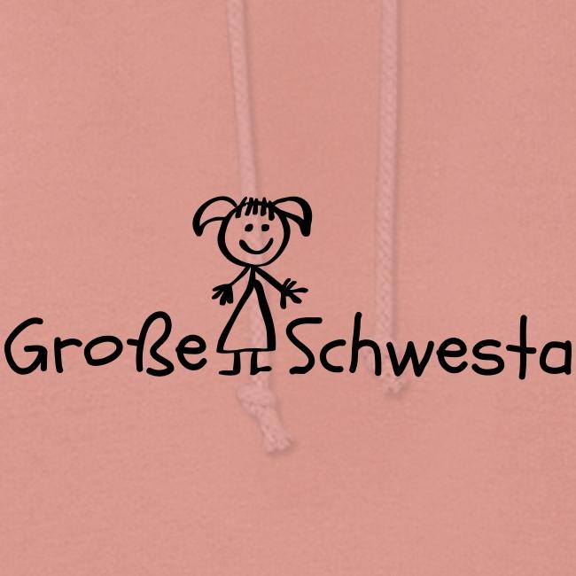 Vorschau: Grosse Schwesta - Frauen Hoodie
