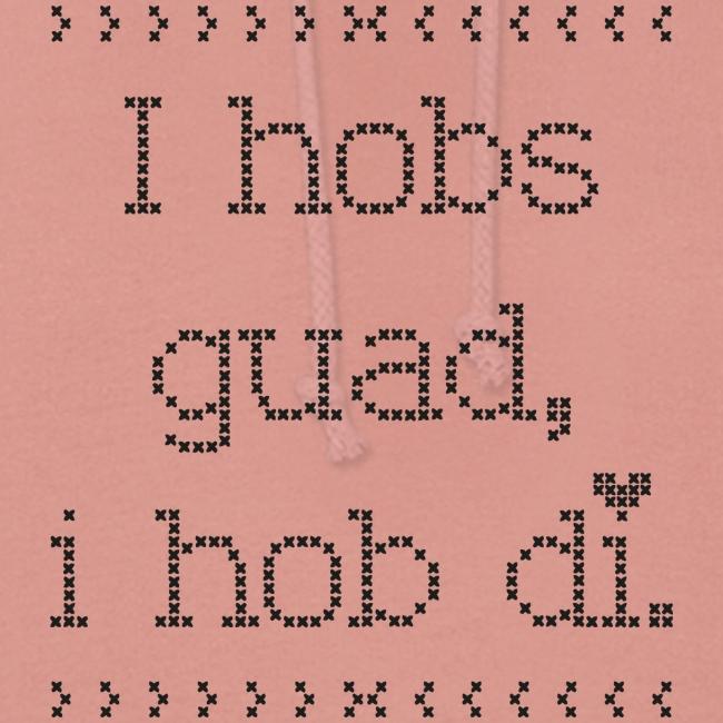 Vorschau: I hobs guad i hob di - Frauen Hoodie