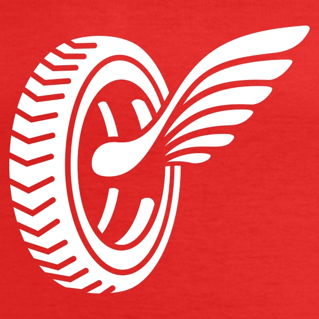 Car badge tires and wings