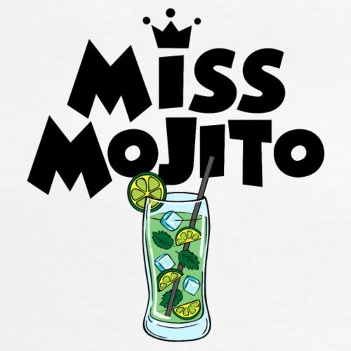Miss Mojito - T-shirt classique col V Femme