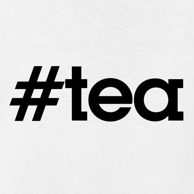 """Hashtag """"Tea"""" - noir"""