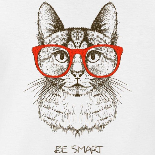 Vorschau: Cat Hipster - Klassisches Männer-T-Shirt mit V-Ausschnitt