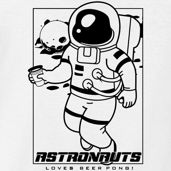 Astronauts loves Beerpong
