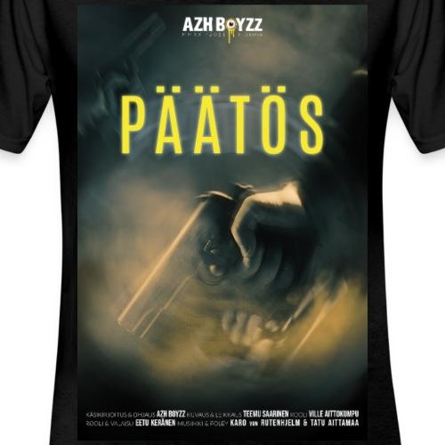 Päätös (1print) - Klassinen miesten t-paita v-pääntiellä