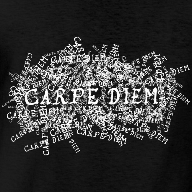 carpe diem (valkoinen)