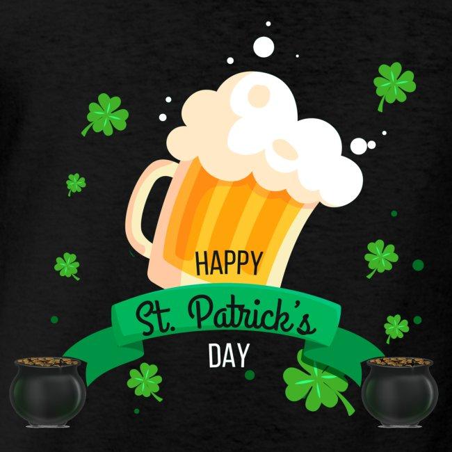 Happy St Patrick's tee shirt