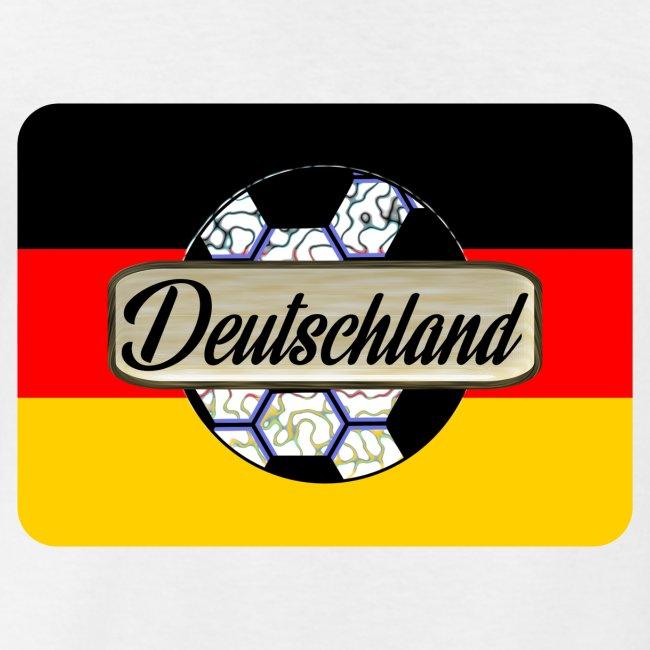 Deutschland Fan Trikot Wappen Fussball Symbol Klassisches Manner T Shirt Mit V Ausschnitt
