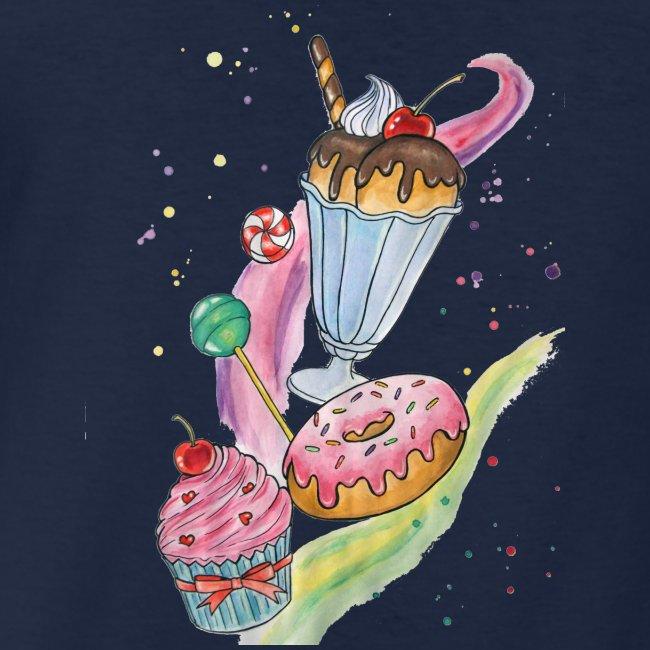 Sweets Watercolors Nadia Luongo