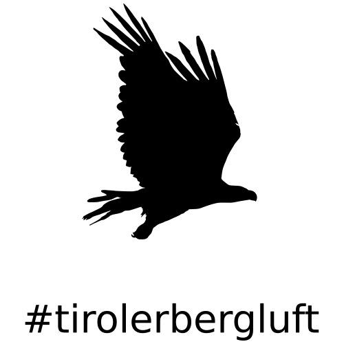 #tirolerbergluft - Teenager Premium Bio T-Shirt