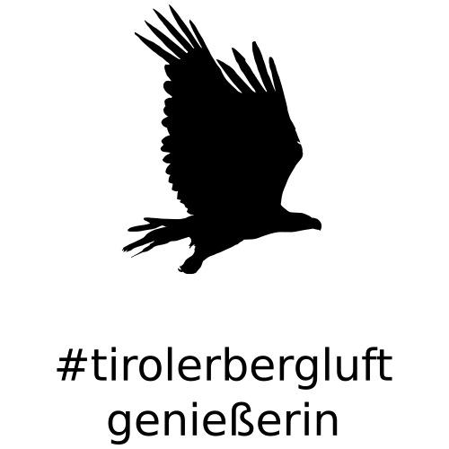 #tirolerbergluft genießerin - Teenager Premium Bio T-Shirt