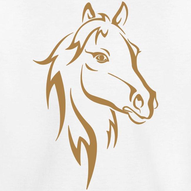Vorschau: Horse - Teenager Premium Bio T-Shirt