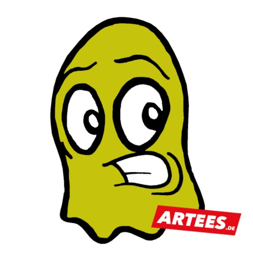 Artees GHOST Yellow - Teenager Premium Bio T-Shirt
