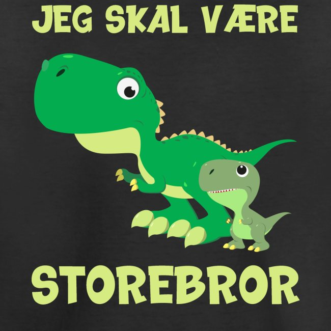 Jeg skal være storebror dino dinosaur dinosaurus