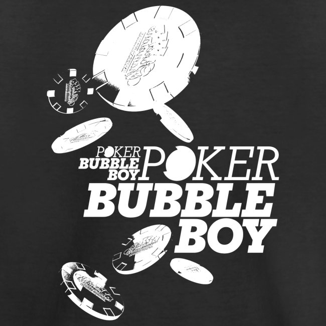 Poker - Bubble Boy (hvid)