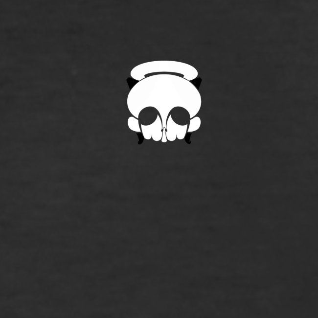 Skull white angel