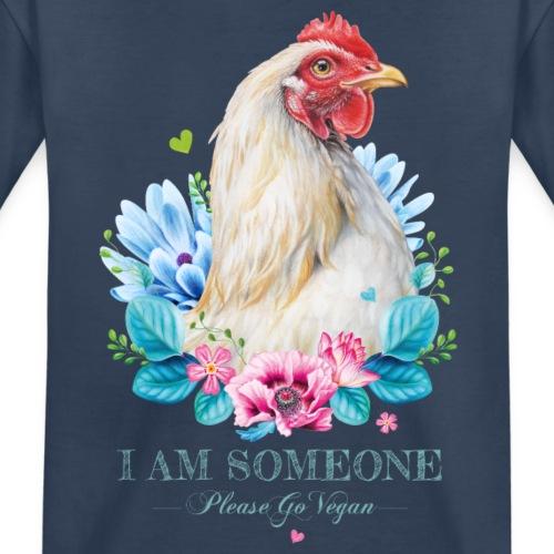 Hen with flowers - Teenager Premium Organic T-Shirt