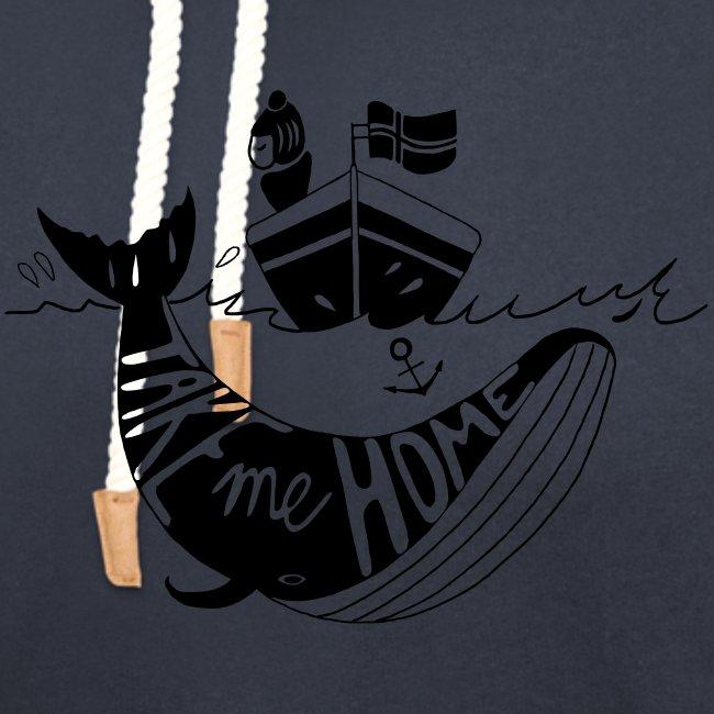 Frau im Boot Meer Norwegische Flagge Geschenk