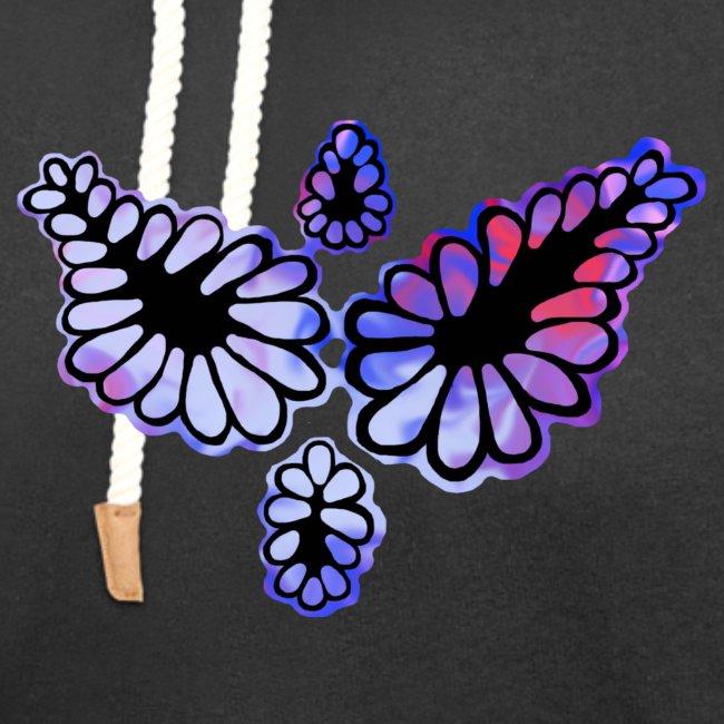 Purple flower - Woman shirt