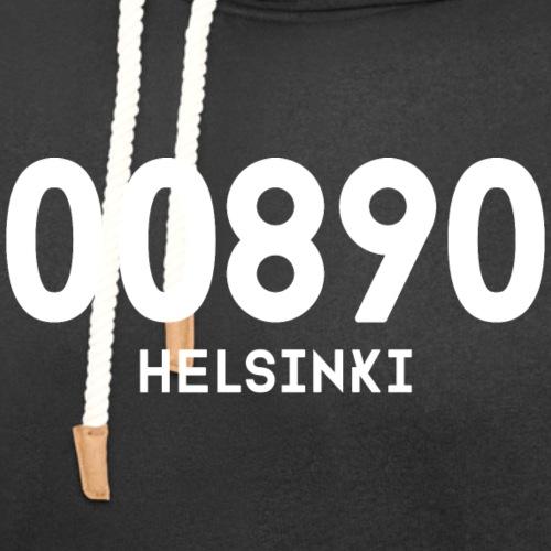 00890 HELSINKI - Unisex huivikaulus huppari