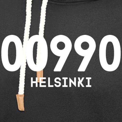 00990 HELSINKI - Unisex huivikaulus huppari