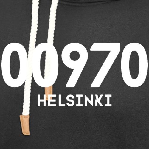 00970 HELSINKI - Unisex huivikaulus huppari