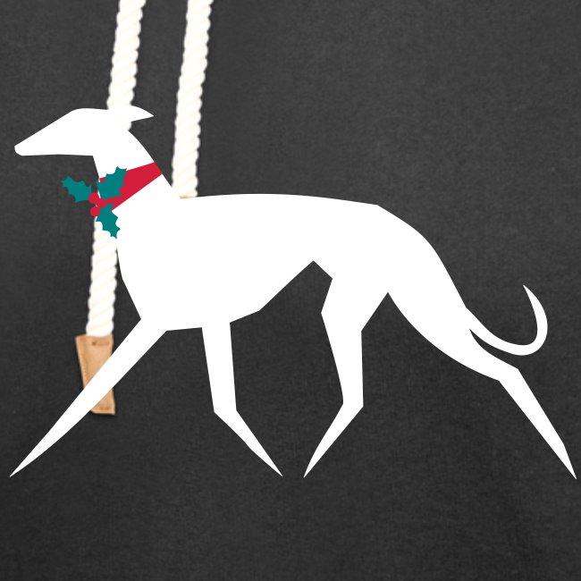 Weihnachtswindhund