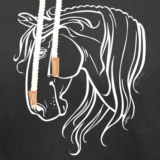 Cheval espagnol (blanc)