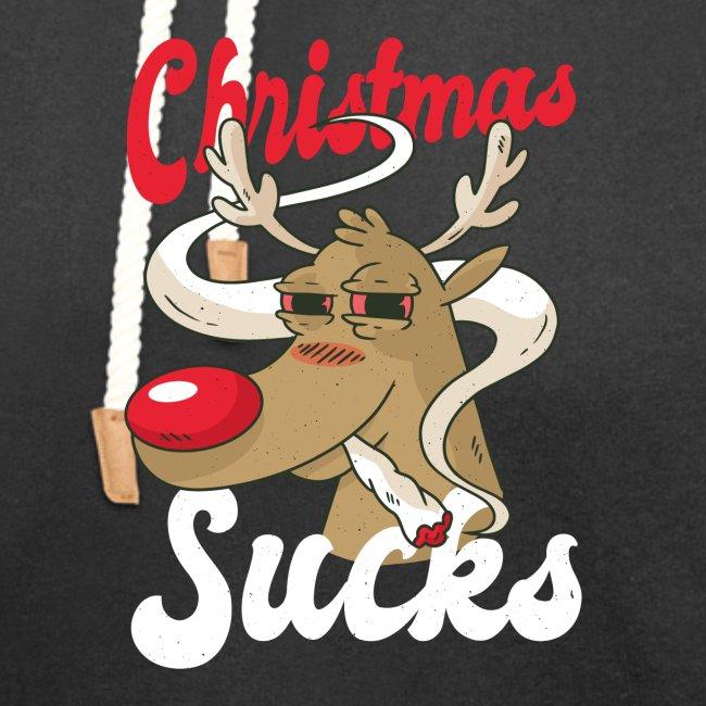 smoking Rentier christmas sucks