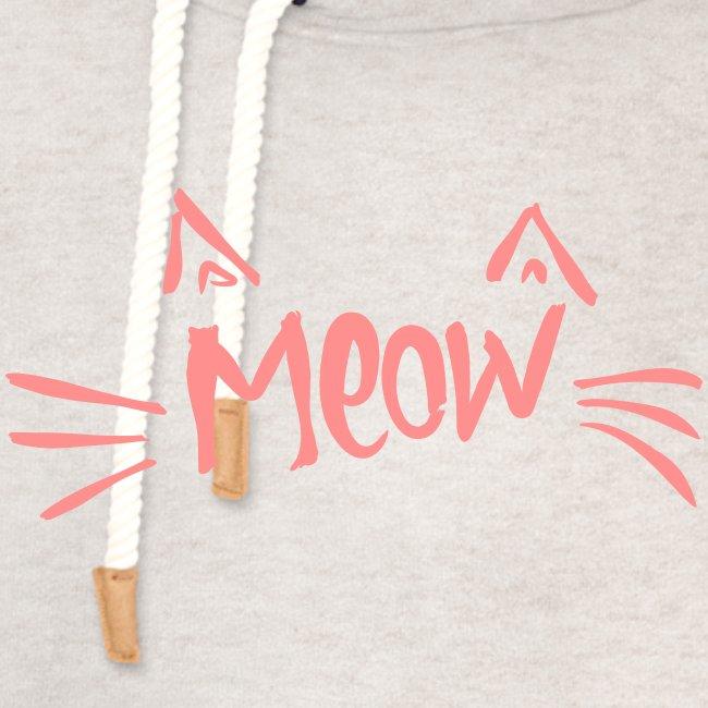Vorschau: meow2 - Unisex Schalkragen Hoodie