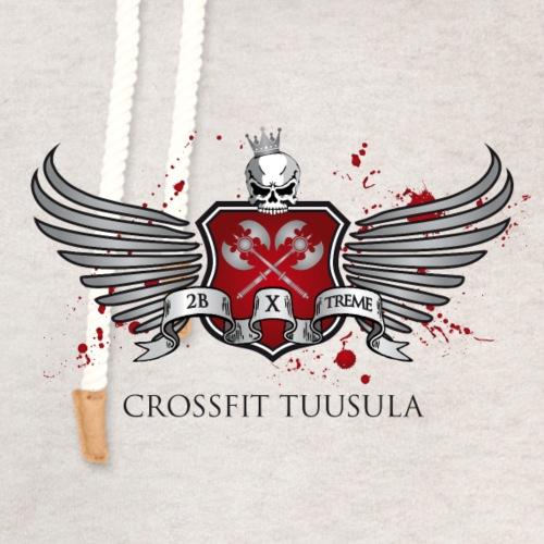 CrossFit Tuusula - Unisex huivikaulus huppari