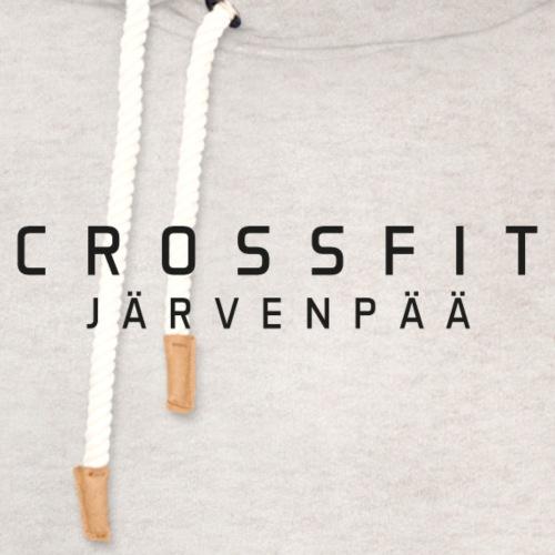 CrossFit Järvenpää mustateksti - Unisex huivikaulus huppari