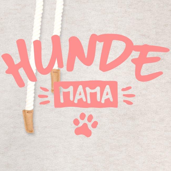 Vorschau: Hunde Mama - Unisex Schalkragen Hoodie