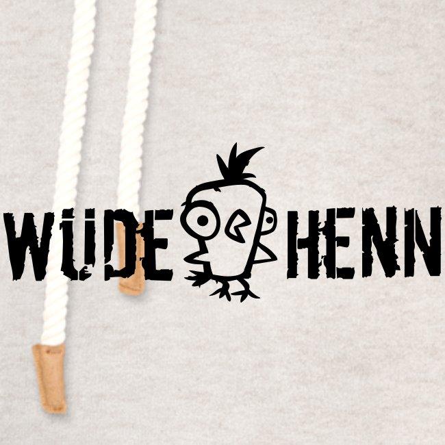 Vorschau: Wüde Henn - Unisex Schalkragen Hoodie
