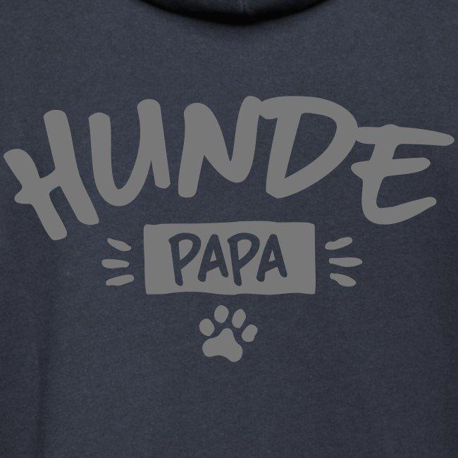 Vorschau: Hunde Papa - Unisex Schalkragen Hoodie