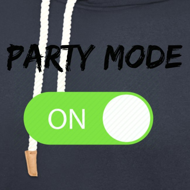 Party mode on tshirt
