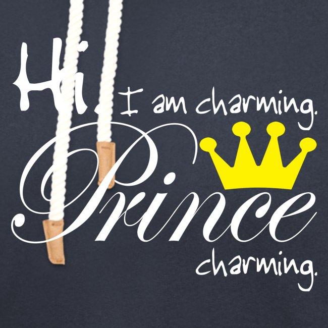 Hi I am charming. Prine Charming