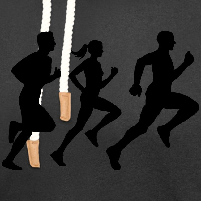 runner group Läufer Gruppe Team