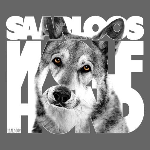 Saarloos Wolfhond I - Unisex huivikaulus huppari