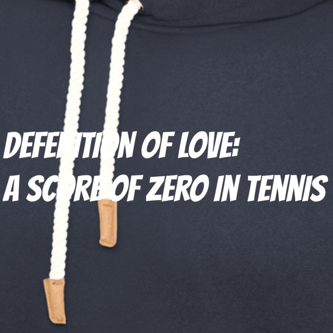 Tennis Love sweater woman