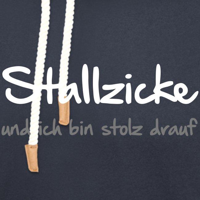 Vorschau: Stallzicke - Unisex Schalkragen Hoodie