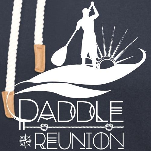 Paddle Reunion by Untoy - Sweat à capuche cache-cou unisexe